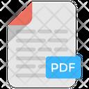 Pdf File Portable Icon