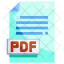 Pdf File Text File Document Icon