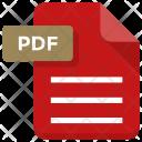 Pdf File Sheet Icon