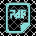 Pdf File Pdf Format Icon