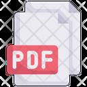 Pdf File Pdf Document Pdf Formate Icon