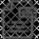 Pdf File Document File Icon