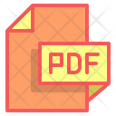 Pdf File Format File Icon