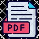 Pdf File File Document Icon