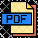 Pdf File File Type Icon