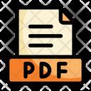 Pdf Folder File Icon