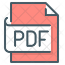 Pdf File Page Document Icon