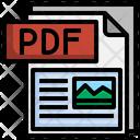Pdf File File Folder Icon