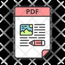 Pdf File Pdf Electronic Icon