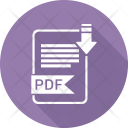 Pdf Extension Document Icon