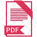 Pdf Format Document Icon
