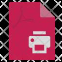 Pdf File Doc Icon