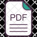 Pdf File Document Icon