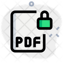 Pdf File Lock Icon
