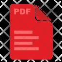 Pdf File Text Icon