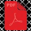Pdf Read File Icon