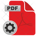 Pdf Settings Icon
