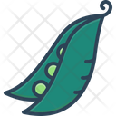 Pea Peapod Nutrition Icon
