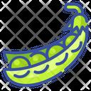 Pea Fruit Food Icon