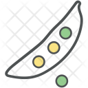 Pea Peas Vegetable Icon