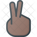 Peace Victory Sign Icon