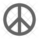 Peace Symbol Hope Icon