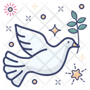 Pigeon Dove Peace Icon