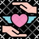 Peace Love Care Icon