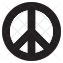 Peace Sign Symbol Icon