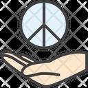 Peace Pacific Hand Icon