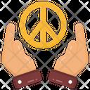 Peace Sign Peace Symbol Peace Care Icon
