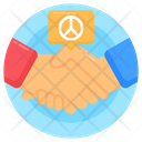 Peace Agreement Peace Contract Peace Deal Icon