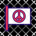 Peace Flag Peace Flag Icon