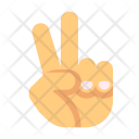 Peace Hand Icon