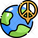Peace Location Global Location Location Icon