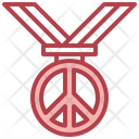 Peace Medal Icon