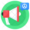Peace Advertising Peace Publicity Peace Marketing Icon