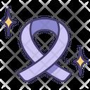 Ribbon Peace Cancer Icon