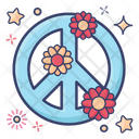 Peace Sign Peace Symbol Hippie Sign Icon