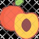 Peach Food Supermarket Icon