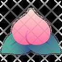 Peach Fortune Good Icon
