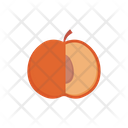 Peach Apricot Fruit Icon