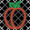 Peach Fruits Fruit Icon