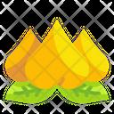 Peach Fruit Celebration Icon