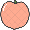 Peach Berry Food Icon