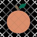 Peach Fruit Autumn Icon
