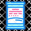 Peach Container Icon
