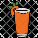 Peach Juice Icon