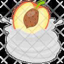 Peach Whip Peach Melba Peach Tart Icon