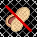 Peanut Nut Allergy Icon